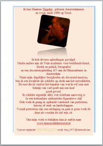 Biografie Maarten