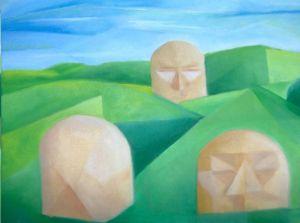 Duinen kubistisch