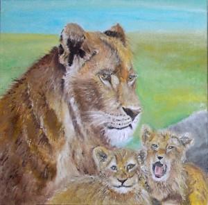 Leeuwin verkleind