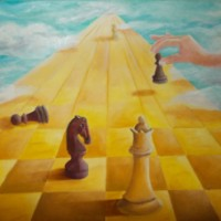 LIFE IS A CHESSGAME - Irma Schiffers