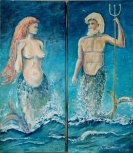 Venus en neptunus