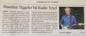 Noord Hollands Dagblad 16 mei 2013