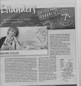 Straatjournaal-krant Januari 2013, Irma